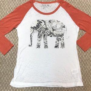 new Miss Me shirt - small & medium